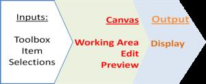 projection canvas concept
